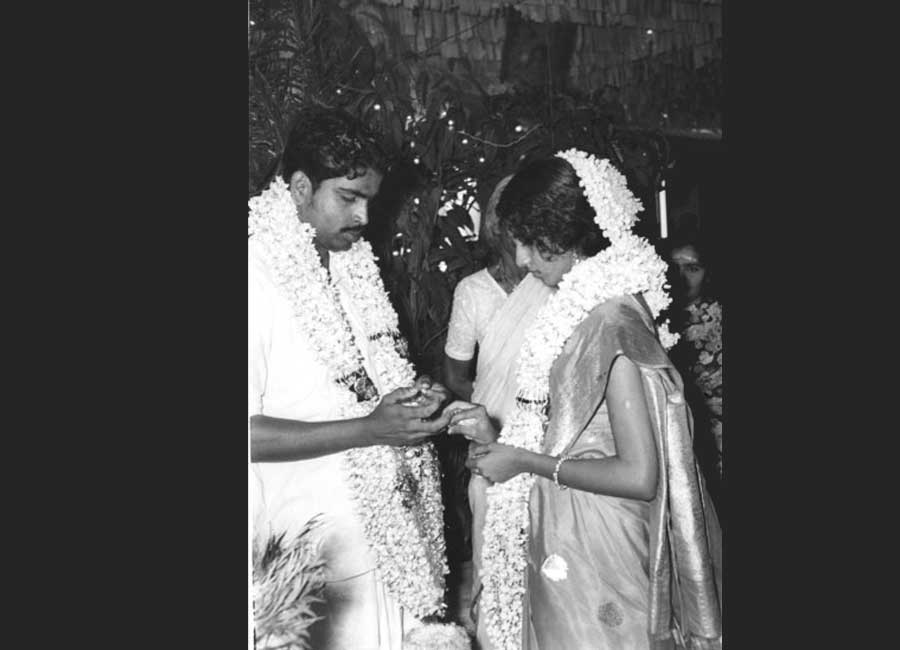 The black and white years. Marriage function in 1972 at Thrissur. Those were the days.....!